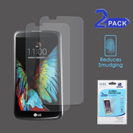 Anti-Glare Clear Screen Protector for LG K10 / Premier LTE - Twin Pack