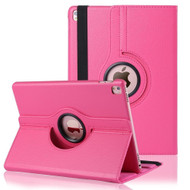 *SALE* 360 Degree Smart Rotary Leather Case for iPad Pro 9.7 inch - Hot Pink