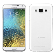 *Sale* Rubberized Crystal Case for Samsung Galaxy E5 - Clear