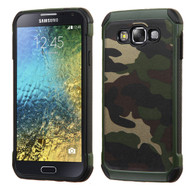 *Sale* Tough Anti-Shock Hybrid Case for Samsung Galaxy E5 - Camouflage