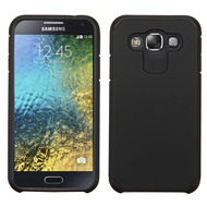 *Sale* Hybrid Multi-Layer Armor Case for Samsung Galaxy E5 - Black