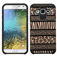 *Sale* Hybrid Multi-Layer Armor Case for Samsung Galaxy E5 - Leopard Zebra