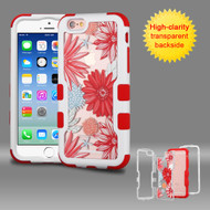 *Sale* TUFF Vivid Graphic Hybrid Armor Case for iPhone 6 / 6S - Spring Daisies