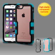 TUFF Vivid Hybrid Armor Case for iPhone 6 Plus / 6S Plus - Black Teal