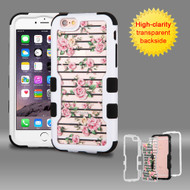 TUFF Vivid Graphic Hybrid Armor Case for iPhone 6 Plus / 6S Plus - Fresh Roses