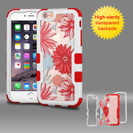 TUFF Vivid Graphic Hybrid Armor Case for iPhone 6 Plus / 6S Plus - Spring Daisies