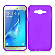 Rubberized Crystal Case for Samsung Galaxy On5 - Purple