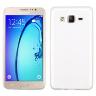 Rubberized Crystal Case for Samsung Galaxy On5 - Clear