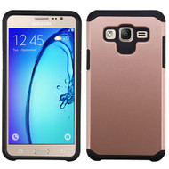 Hybrid Multi-Layer Armor Case for Samsung Galaxy On5 - Rose Gold