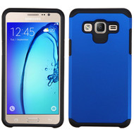 Hybrid Multi-Layer Armor Case for Samsung Galaxy On5 - Blue