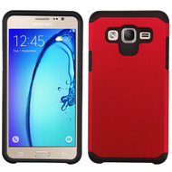 Hybrid Multi-Layer Armor Case for Samsung Galaxy On5 - Red