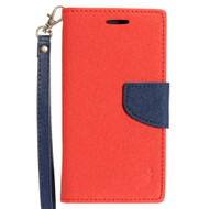 *SALE* Leather Wallet Shell Case for Samsung Galaxy On5 - Red