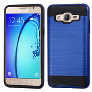 *Sale* Brushed Hybrid Armor Case for Samsung Galaxy On5 - Blue