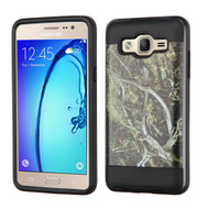 Brushed Graphic Hybrid Armor Case for Samsung Galaxy On5 - Tree