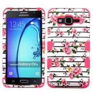 Military Grade Certified TUFF Image Hybrid Armor Case for Samsung Galaxy On5 - Fresh Roses