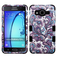 Military Grade Certified TUFF Image Hybrid Armor Case for Samsung Galaxy On5 - Persian Paisley