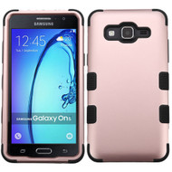 Military Grade Certified TUFF Hybrid Armor Case for Samsung Galaxy On5 - Rose Gold