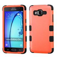 Military Grade Certified TUFF Hybrid Armor Case for Samsung Galaxy On5 - Orange