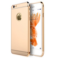 GripTech 3-Piece Chrome Frame Case for iPhone 6 / 6S - Gold