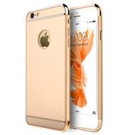*SALE* GripTech 3-Piece Chrome Frame Case for iPhone 6 Plus / 6S Plus - Gold