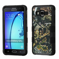 Military Grade TUFF Image Hybrid Armor Case for Samsung Galaxy On5 - English Oak Camouflage