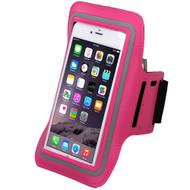Neoprene Sport Armband - Hot Pink