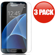 *SALE* HD Premium Round Edge Tempered Glass Screen Protector for Samsung Galaxy S7 - 3 Pack