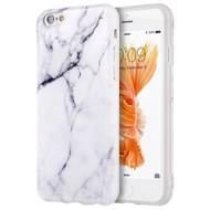 Marble TPU Case for iPhone 6 / 6S - White