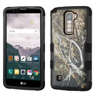 Military Grade TUFF Image Hybrid Armor Case for LG Stylo 2 Plus - Tree