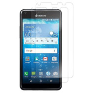 *Sale* Crystal Clear Screen Protector for Kyocera Hydro Reach / Hydro Shore / Hydro View - Twin Pack