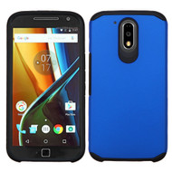 *SALE* Hybrid Multi-Layer Armor Case for Motorola Moto G4 / G4 Plus - Blue