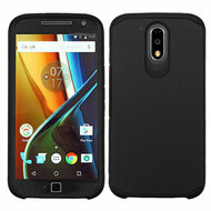 *Sale* Hybrid Multi-Layer Armor Case for Motorola Moto G4 / G4 Plus - Black