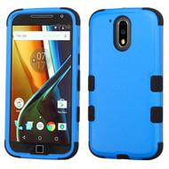 Military Grade TUFF Hybrid Armor Case for Motorola Moto G4 / G4 Plus - Blue