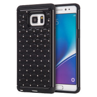 TotalDefense Diamond Hybrid Case for Samsung Galaxy Note 7 - Black