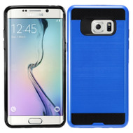 Brushed Hybrid Armor Case for Samsung Galaxy Note 7 - Blue