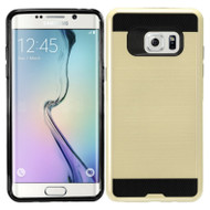 Brushed Hybrid Armor Case for Samsung Galaxy Note 7 - Gold
