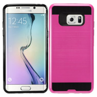 Brushed Hybrid Armor Case for Samsung Galaxy Note 7 - Hot Pink