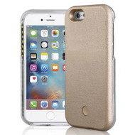 Illuminated Selfie LED Light Case for iPhone 6 Plus / 6S Plus - Gold
