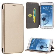 Splendid Series Leather Hard Cover Flip Case for Samsung Galaxy Note 7 - Gold