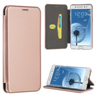 Splendid Series Leather Hard Cover Flip Case for Samsung Galaxy Note 7 - Rose Gold