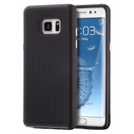 Ezpress Anti-Slip Hybrid Armor Case for Samsung Galaxy Note 7 - Black