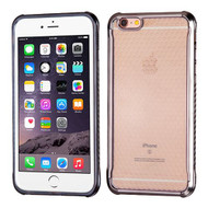Hexagon Electroplated Premium Candy Skin Cover for iPhone 6 Plus / 6S Plus - Tarnish
