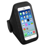 Neoprene Sport Fitness Armband - Black