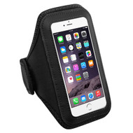 Neoprene Sport Plus Fitness Armband - Black