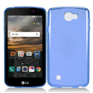 *Sale* Rubberized Crystal Case for LG K3 - Blue