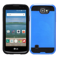 *Sale* Brushed Hybrid Armor Case for LG K3 - Blue