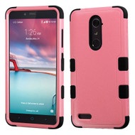 *SALE* Military Grade TUFF Hybrid Armor Case for ZTE Zmax Pro / Grand X Max 2 / Imperial Max / Max Duo 4G - Pink