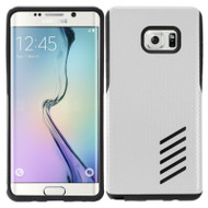Multi-Layer Hybrid Armor Case for Samsung Galaxy Note 7 - Silver