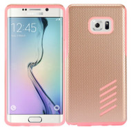 Multi-Layer Hybrid Armor Case for Samsung Galaxy Note 7 - Rose Gold Pink
