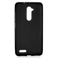 Rubberized Crystal Case for ZTE Zmax Pro / Grand X Max 2 / Imperial Max / Max Duo 4G - Black